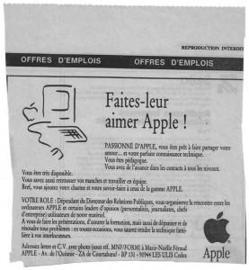CV Apple France