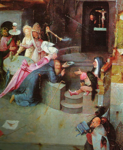 bosch-tentation de St Antoine